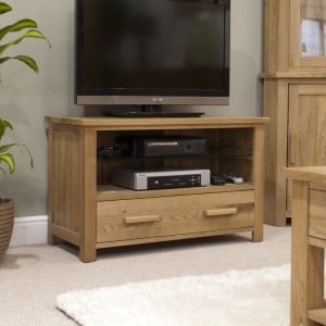 Homestyle Opus Solid Oak Furniture TV Unit