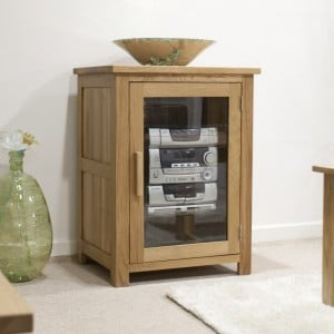 Homestyle Opus Solid Oak Furniture HiFi Unit
