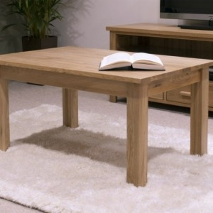 Homestyle Opus Solid Oak Furniture 3ft X 2ft Rectangle Coffee Table
