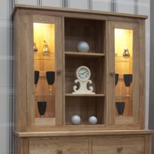 Homestyle Torino Solid Oak Furniture Medium Sideboard Top