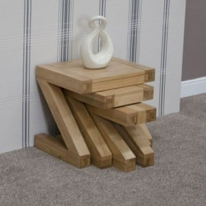 Homestyle Z Solid Oak Furniture Nest Of Tables