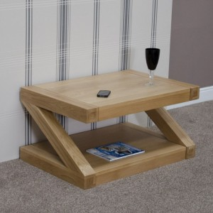 Homestyle Z Solid Oak Furniture Coffee Table