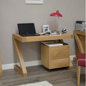 Homestyle Z Solid Oak Furniture Small Computer Desk