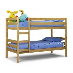 Julian Bowen Furniture Wyoming Pine 3ft Single Bunk Bed