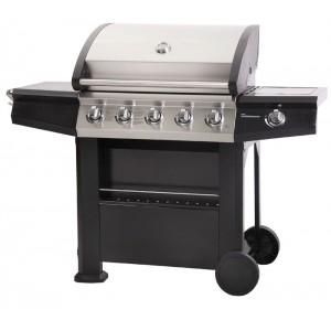 Lifestyle Appliances Dominica 5 +1 Burner Gas BBQ With Side Burner