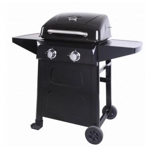 Lifestyle Appliances Cuba 2 Burner Gas BBQ With Side Shelves
