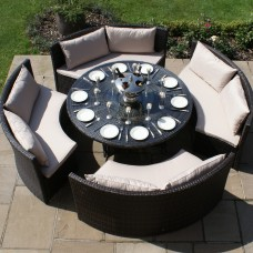 Rattan 10+ Seater Dining Sets
