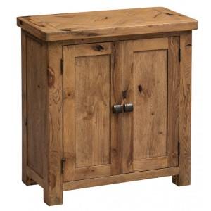 Homestyle Aztec Oak Furniture Rustic Small Occasional Cupboard