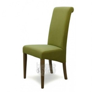 Homestyle Chair Collection Italia Green Fabric Chair Pair