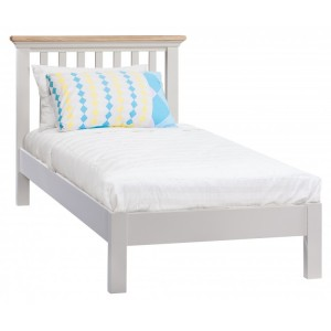 Homestyle Cotswold Two-Tone Oak Furniture Single Bed 3ft