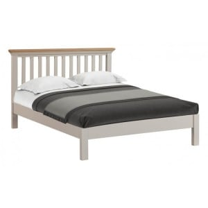 Homestyle Cotswold Two-Tone Oak Furniture Double Bed 4ft6