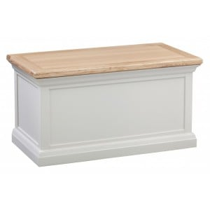 Homestyle Cotswold Two-Tone Oak Furniture Blanket Box