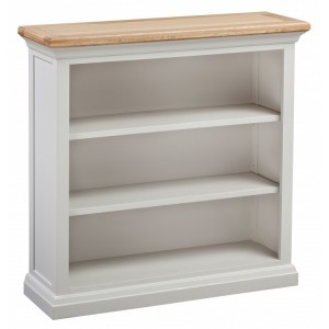 Homestyle Cotswold Two-Tone Oak Furniture Small 3 Shelf Bookcase