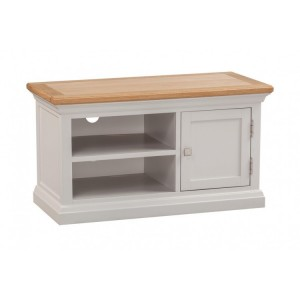 Homestyle Cotswold Two-Tone Oak Furniture TV Cabinet