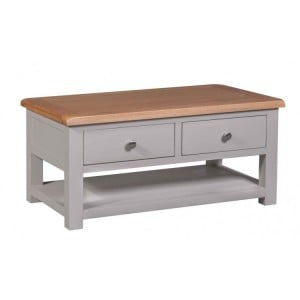 Homestyle Diamond Grey Painted Furniture Coffee Table