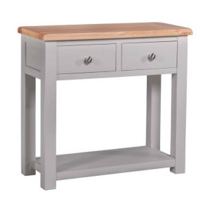 Homestyle Diamond Grey Painted Furniture Hall Table
