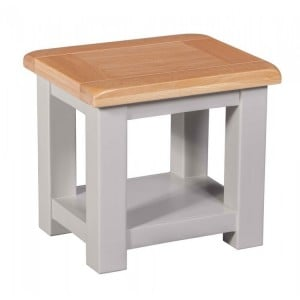 Homestyle Diamond Grey Painted Furniture Lamp Table
