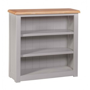 Homestyle Diamond Grey Painted Furniture Small Bookcase