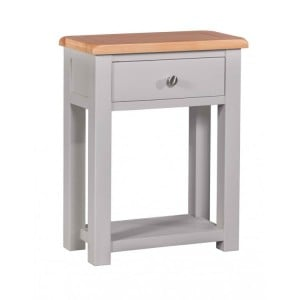 Homestyle Diamond Grey Painted Furniture Small Hall Table