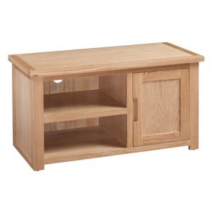 Homestyle Moderna Oak Furniture Small 1 Door TV Stand