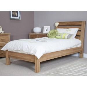 Homestyle Trend Oak Furniture Single 3ft Slatted Bed