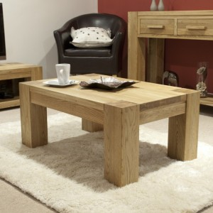 Homestyle Trend Oak Furniture 3ft x 2ft Coffee Table