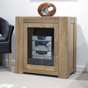 Homestyle Trend Oak Furniture Hi Fi Unit