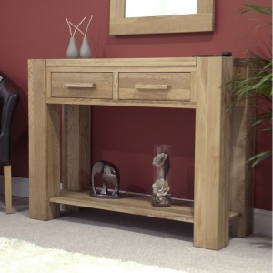 Homestyle Trend Oak Furniture Console Hall Table