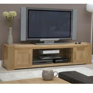 Homestyle Trend Oak Furniture Large TV Plasma Unit
