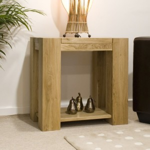 Homestyle Trend Oak Furniture Lamp Table