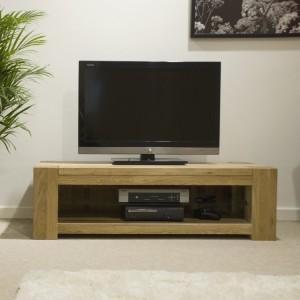 Homestyle Trend Oak Furniture TV Plasma Unit Cabinet