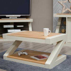 Homestyle Z Painted Oak Furniture Coffee Table