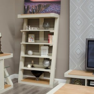 Homestyle Z Painted Oak Furniture Large Bookcase