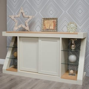 Homestyle Z Painted Oak Furniture Large Sideboard
