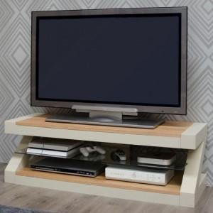Homestyle Z Painted Oak Furniture Plasma Unit