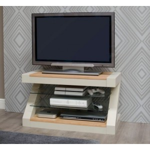 Homestyle Z Painted Oak Furniture TV Unit