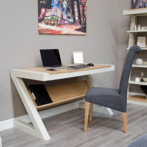 Homestyle Z Painted Oak Furniture Computer Desk