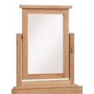 Canterbury Wax Oak Furniture Dressing Table Mirror