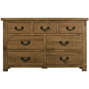 Fairford Rustic Furniture 3 Over 4 Chest of Drawers