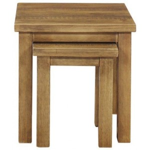 Fairford Rustic Furniture Nest of 2 Tables