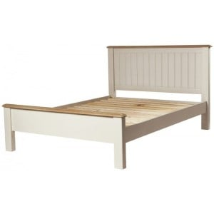 Freya Ivory Bedroom Furniture 4ft6in Double Bed Frame