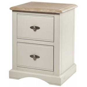 Freya Ivory Bedroom Furniture Bedside Table