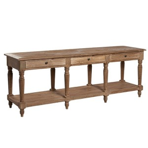 Hanoverian Reclaimed Pine Furniture Console Table