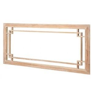Hanoverian Reclaimed Pine Furniture Large Rectangular Wall Mirror