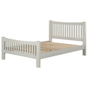 Hove Grey Painted Furniture 4ft6in Double Bed Frame