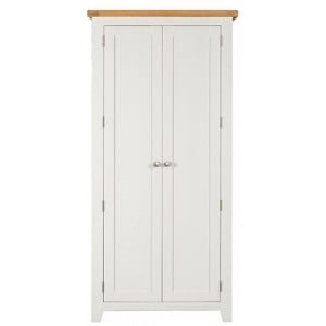 Hove Off-White Painted Furniture Double Wardrobe