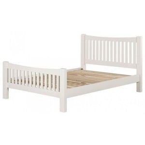 Hove Off-White Painted Furniture 4ft6in Double Bed Frame