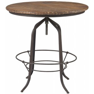 Kingsley Furniture Circular Revolving Bar Table