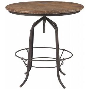 Kingsley Furniture Circular Revolving Bar Table