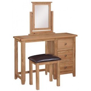 Mini Canterbury Oak Furniture Dressing Table Only